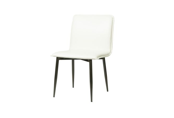 Luca Fox White Dining Chair Home Ingredients