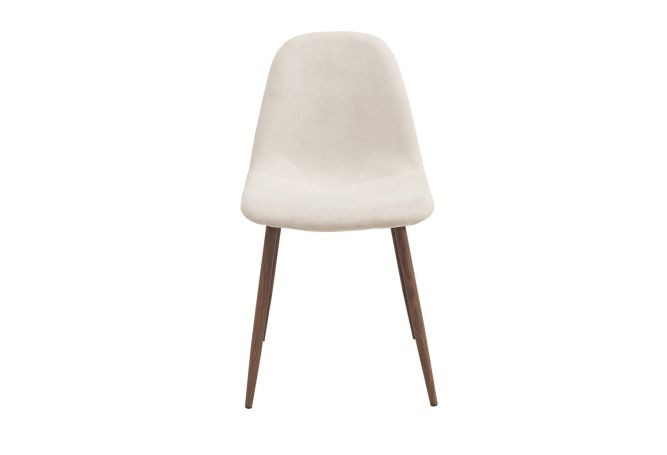 Lyna Beige Dining Chair Home Ingredients