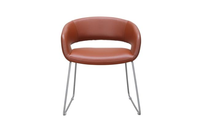 Alex Coffee Dining Chair Home Ingredients