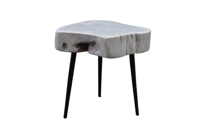Horatio Grey Side Table Home Ingredients