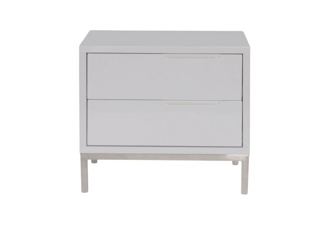 Naples White Nightstand Home Ingredients