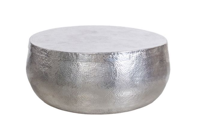 Nomad Silver Large Coffee Table Home Ingredients