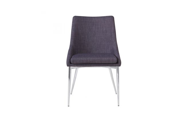 Powell Grey Dining Chair Home Ingredients