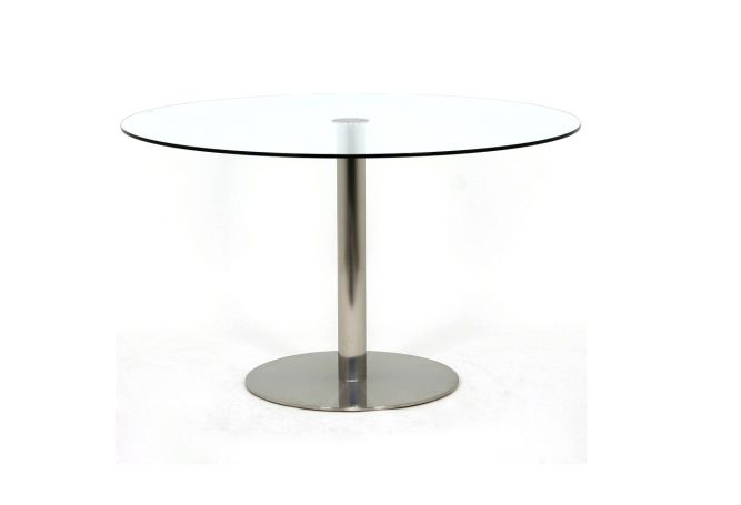 Rossi Round Stainless Dining Table Home Ingredients
