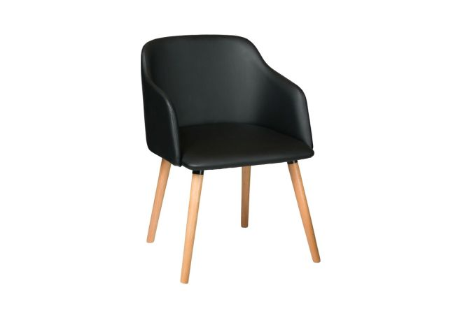 Finn Black Dining Chair Home Ingredients