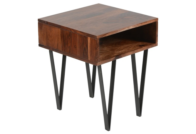 Matrix Rosewood Side Table Home Ingredients