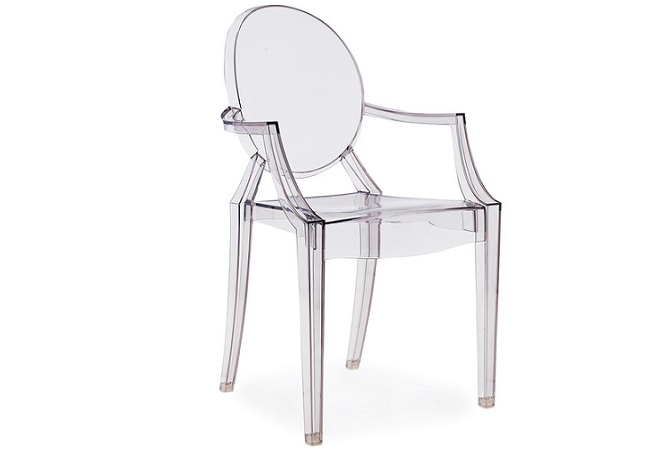 Ghost Transparent Office Chair Home Ingredients
