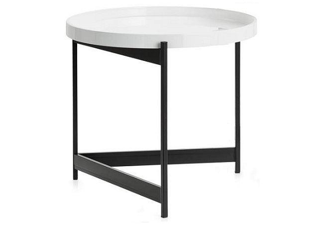 Tersera Removeable Tray Large Side Table Home Ingredients