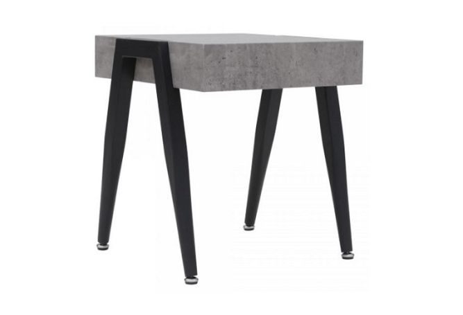 Lisson Cement Side Table Home Ingredients