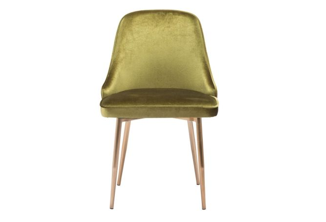 Merritt Green Velvet Dining Chair Home Ingredients
