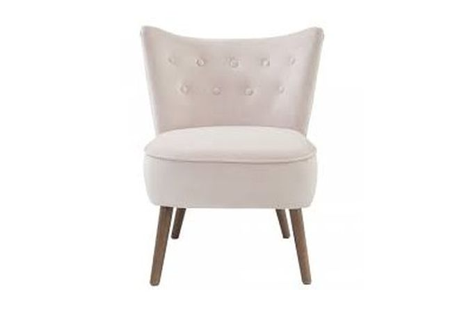 Elle Blush Occasional Chair Home Ingredients