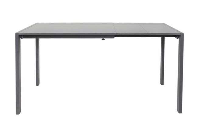 Slide Smoke Grey Large Extension Dining Table Home Ingredients