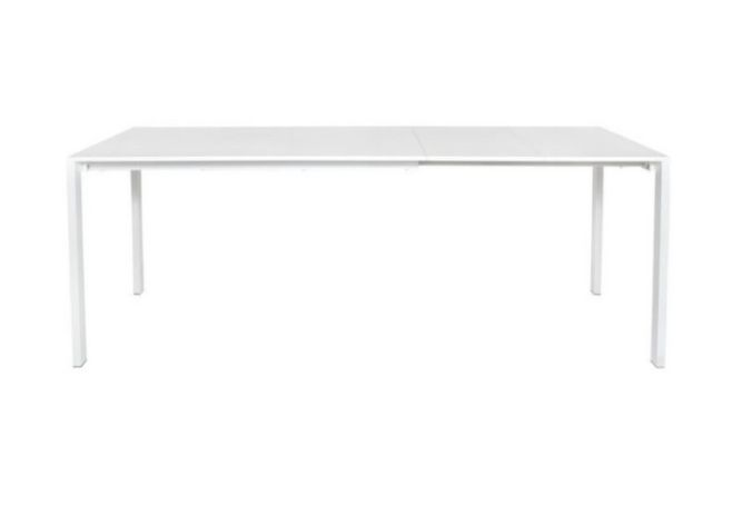 Slide White Large Extension Dining Table Home Ingredients