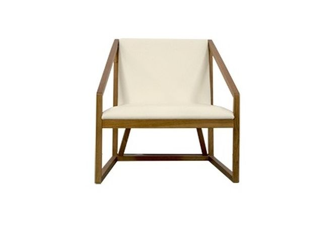 Gio White Occasional Chair Home Ingredients Furniture Rentals F639