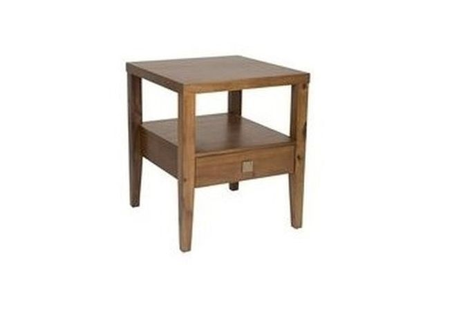 Hara Walnut Side Table Home Ingredients