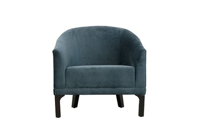 Laken Cashmere Royal Blue Occasional Chair Home Ingredients Furniture Rentals F1089