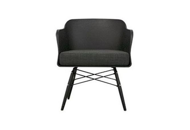 Pablo Black Occasional Chair Home Ingredients Furniture Rentals F668