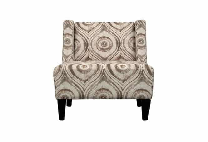 Pender Cream Peacock Occasional Chair Home Ingredients Furniture Rentals F989