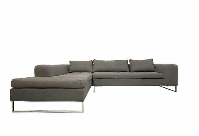 Sulla Charcoal Sectional Home Ingredients