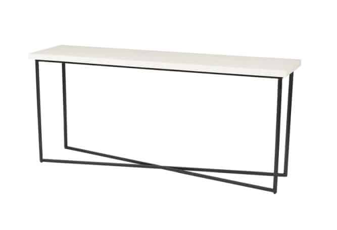 5th-Avenue Bone Inlay Console Home Ingredients Furniture Rentals