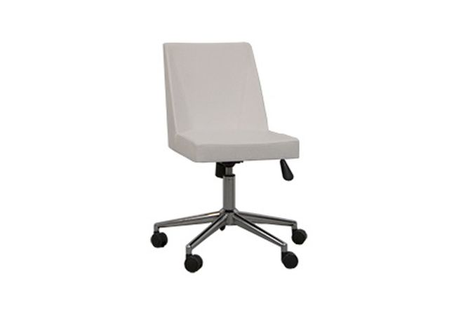 Arlo White Armless Office Chair Home Ingredients Furniture Rentals O144