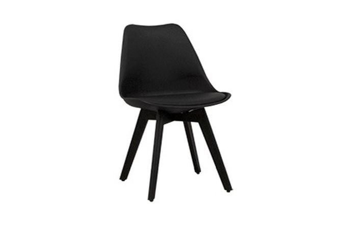 Chicago Black Matte Dining Chair Home Ingredients