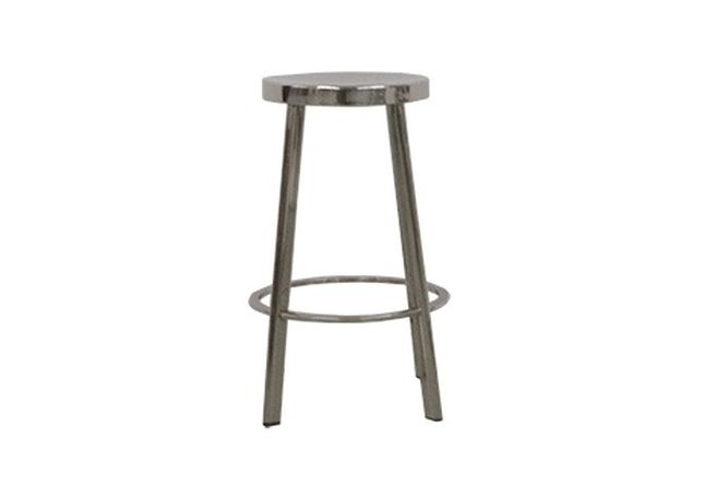 Chrome Round Counter Stool Home Ingredients Furniture Rentals K830