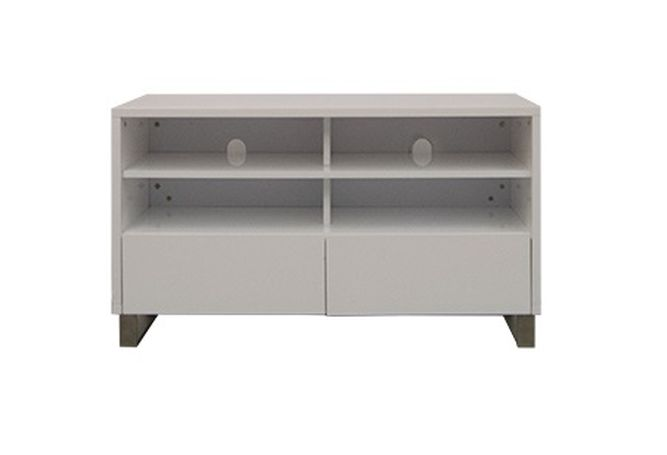 Cinna White High Gloss TV Stand Home Ingredients Furniture Rentals F911