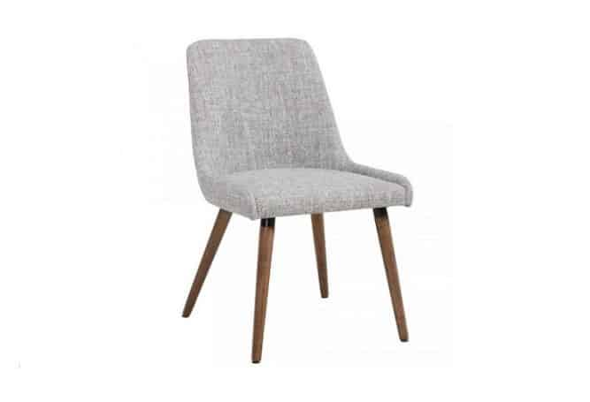 Mia Light Grey Dining Chair Home Ingredients