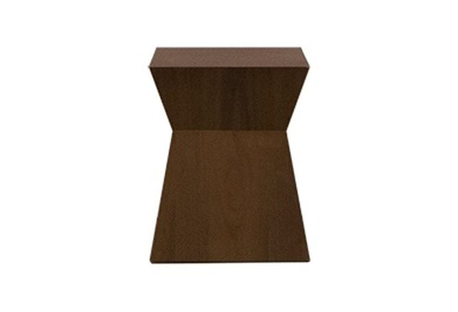 Dwell Walnut Side Table Home Ingredients Furniture Rentals F801