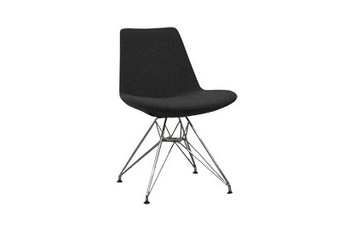 Eiffel Tower Grey Dining Chair Home Ingredients Furniture Rentals D071