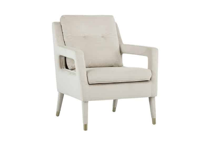 Oxford Champagne Occasional Chair Home Ingredients
