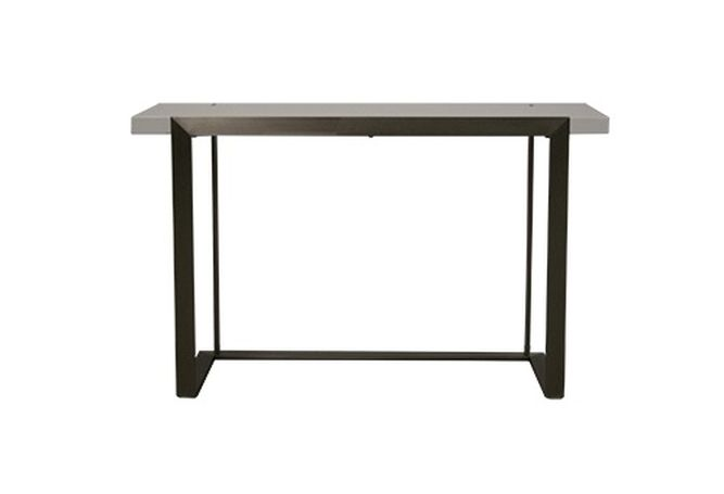 Franze High Gloss White Console Home Ingredients Furniture Rentals F453