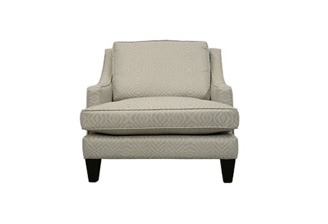 Janet Galileo Zinc Occasional Chair Home Ingredients Furniture Rentals F784