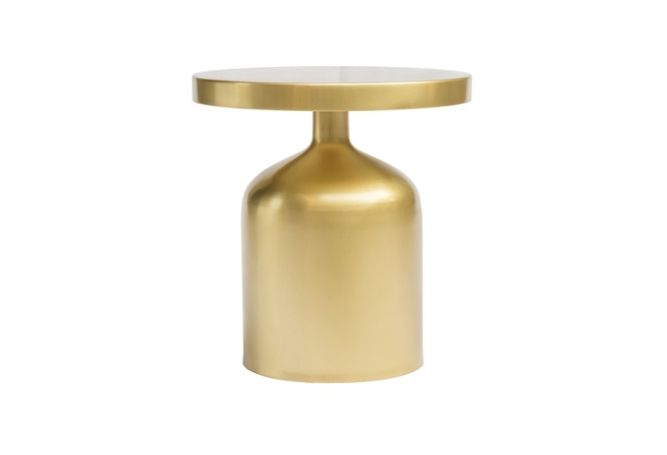 Kendal Gold Side Table Home Ingredients Furniture Rentals F1200