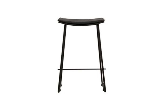 Lucia Black Counter Stool Home Ingredients Furniture Rentals K1088
