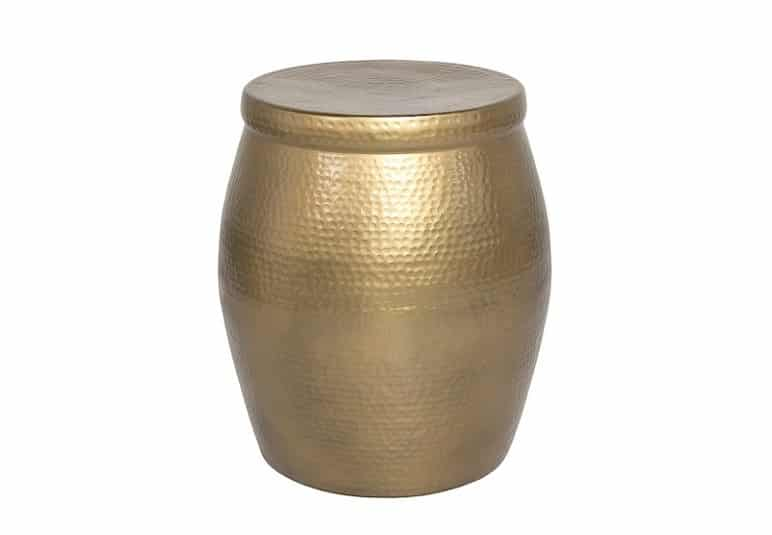 Nomi Gold Side Table Home Ingredients