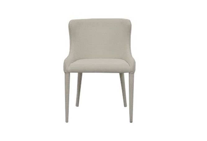 Stanford Cream Linen Dining Chair Home Ingredients Furniture Rentals D183
