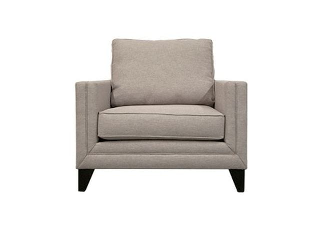 Sutton Light Grey Occasional Chair Home Ingredients Furniture Rentals F1242