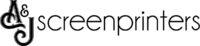 A&J Acreenprinters Logo