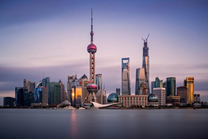 Shanghai Skyline / ITB China