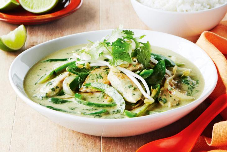 Thai green chicken curry : Taste.com