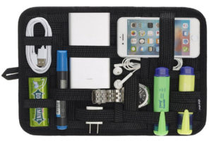 A Travel Electronics Organiser to keep your Travel Gadgets Intact