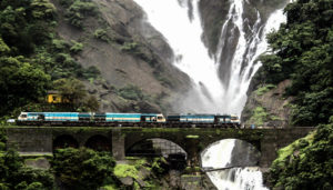 Dudhsagar Falls in Goa / SilkRouteTraveller / Thrillophilia