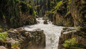 Aharabal Fall in the state of Jammu Kashmir / SilkRouteTraveller / Thousand Wonders