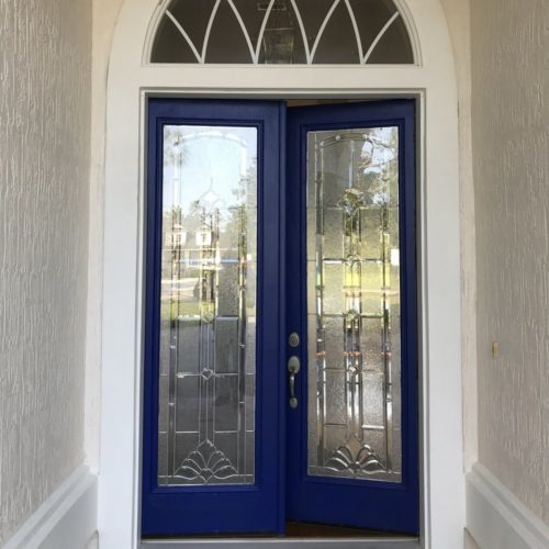 Complete re-do of the entry makes a great first impression!