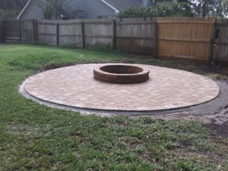 We're the Paver People! Firepits, patios, driveways and more!