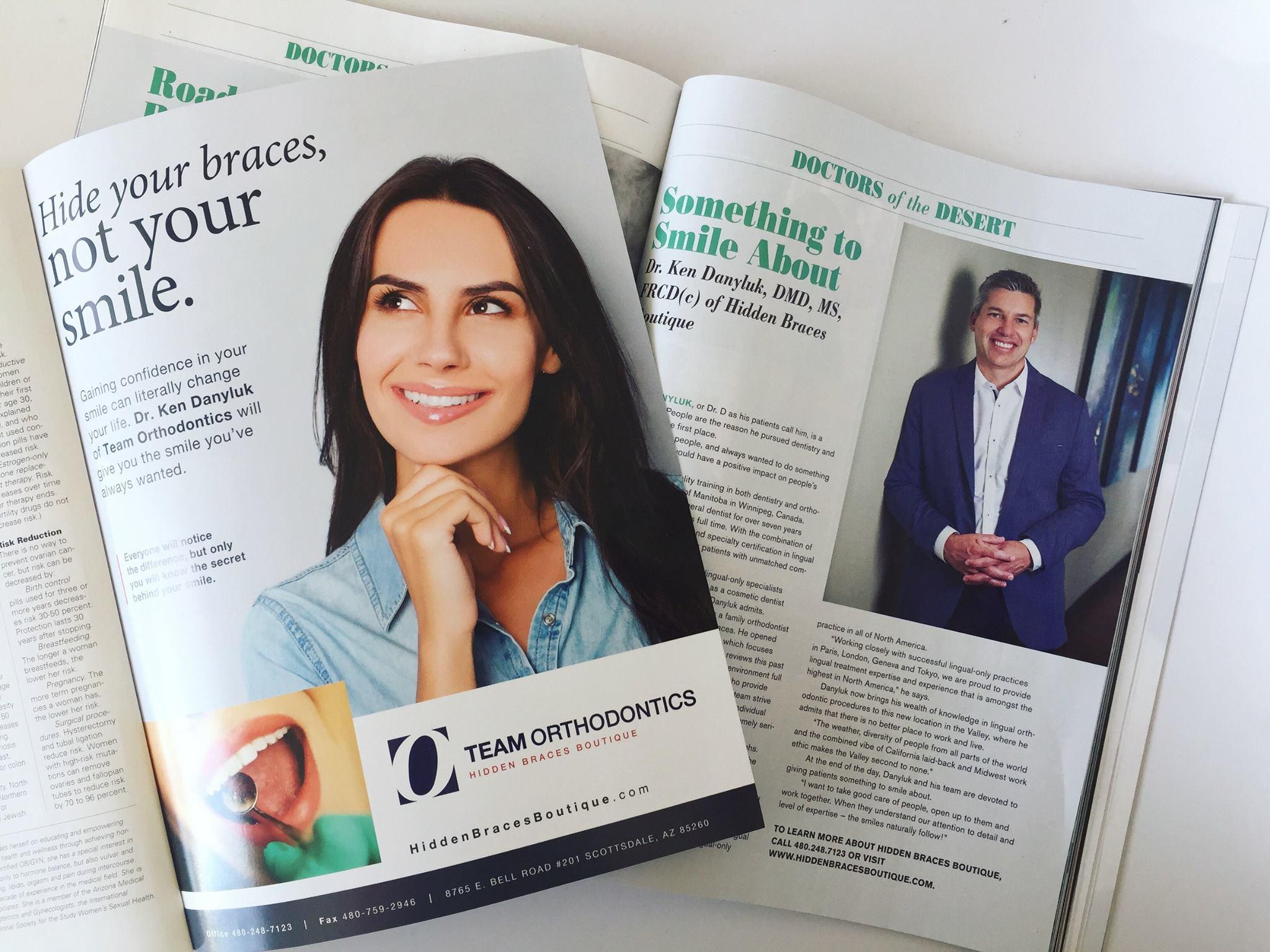 Scottsdale Health Magazine - Dr. D Profile
