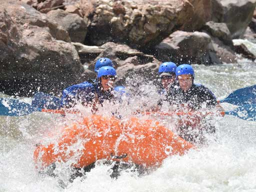rafting the royal gorge