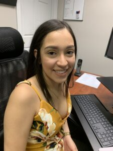 Angie Borjas (Durham Office Assistant) Bilingual